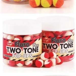 Fluro Pop Ups Two Tone Dynamite Baits